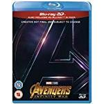 Avengers: Infinity War Filmer Avengers Infinity War [Blu-ray 3D] [2018] [Region Free]